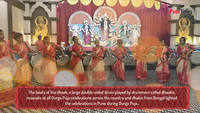 Female dhaakis from Bengal perform for the first time in Pune