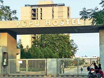 PDPU students told to collect bags