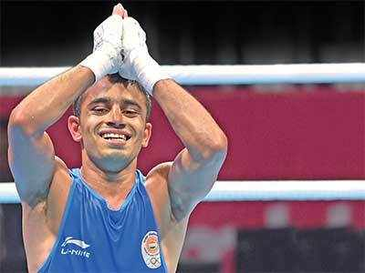 Asian Games 2018: Amit Panghal beats Olympic Champion Hasanboy Dusmatov to win light-flyweight gold