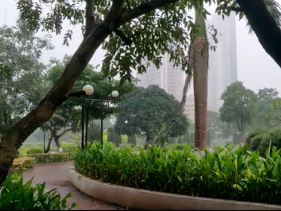 Mumbai Weather Update: Parts of city receive rain, temperature dips