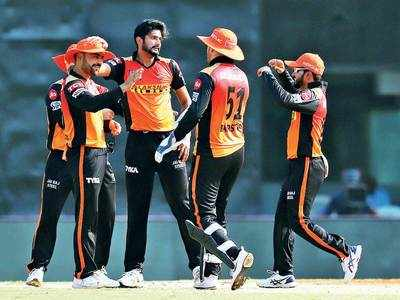 SRH bowlers shine in a win over Punjab Kings