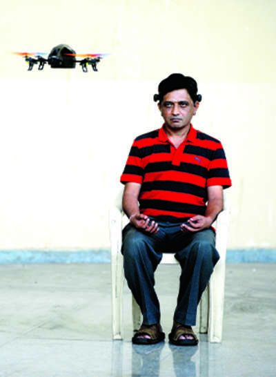IISc scientist builds mind-controlled quadcopters