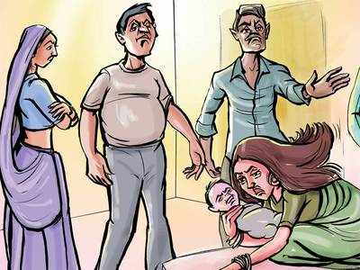Ranip woman files domestic violence plaint against hubby