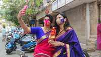 Gudi Padwa special! Mumbaikars enjoy low-key celebrations in the city