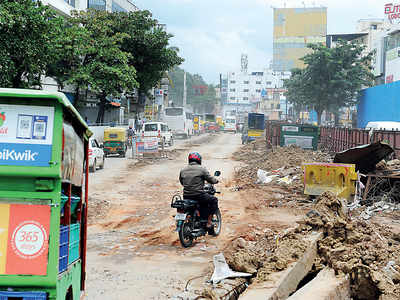 20 days later, Bilekahalli stretch sees no progress