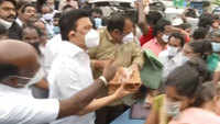 Cyclone Nivar: MK Stalin visits water-logged residential areas of Chennai
