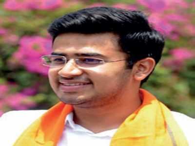 Tejasvi Surya is now BJP yuva morcha president