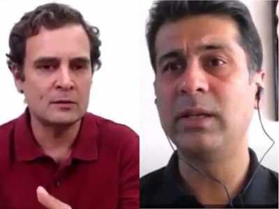 Rajiv Bajaj in conversation with Rahul Gandhi: Draconian lockdown, haven't heard of this kind of lockdown anywhere else