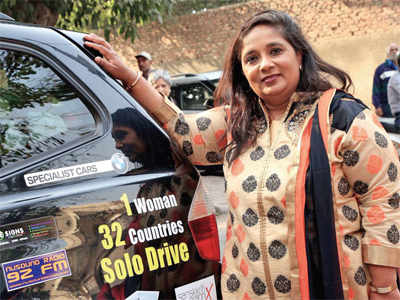 Navsari-born UK resident Bharulata Kamble becomes first woman to finish solo car driving expedition through Arctic Circle