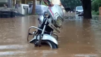 Karnataka: Monsoon rains lash Hubballi, low-lying areas waterlogged