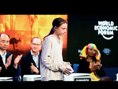 Greta scolds Davos elites over climate