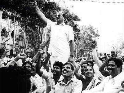 Veteran unionist Dada Samant dead
