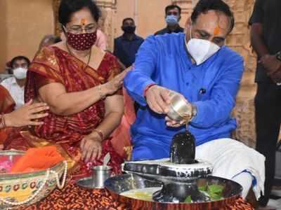 Guj CM's chopper develops tech glitch in Somnath
