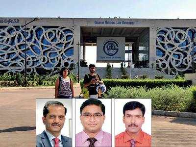 GNLU registrar removed from post