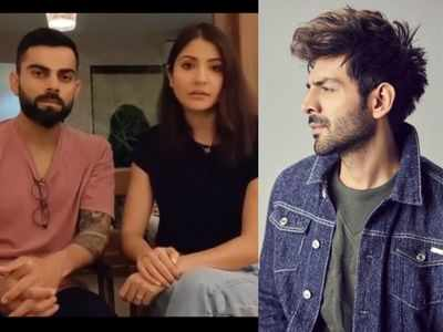 Virat Kohli, Anushka Sharma pledge support to fight COVID-19 pandemic; Kartik Aaryan joins fight with Rs 1 crore donation to PM CARES fund