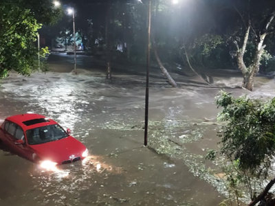 Heavy rains lash Pune: SPPU postpones exam as waterlogging, power cuts reported from various parts of the city