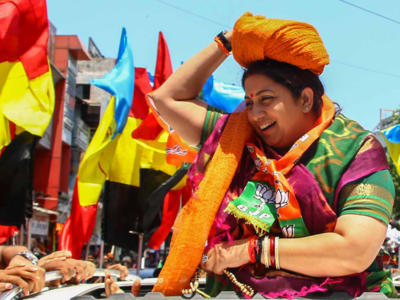 As Smriti Irani leads in Amethi, meet her cutest supporter