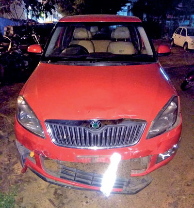 Drunk car driver rams into bike, killing 19-year-old near Aishwarya Junction in Bengaluru's Adugodi