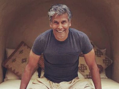 Milind Soman booked for obscenity over nude beach picture