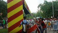 'Fans' of Mohun Bagan club vandalise East Bengal centenary celebrations gate