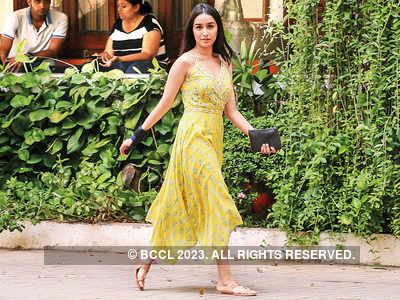 Spotted: Shraddha Kapoor in Santa Cruz