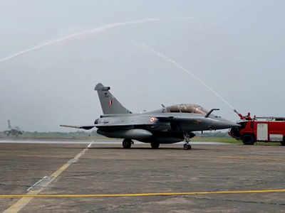 Rafale India live updates: Rafale fighter jets land at IAF airbase in Ambala