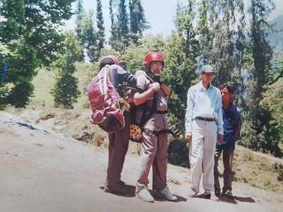 Manali paraglider pilot who took Narendra Modi to skies flying high over Prime Minister's visit on October 3