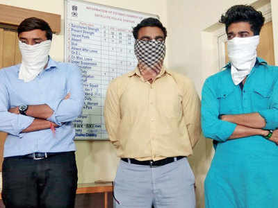 Four held for playing PUBG in city