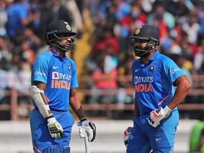India vs Australia 2nd ODI: Shikhar Dhawan, Virat Kohli, KL Rahul fifties propel India to 340/6