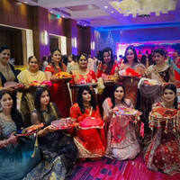 Glimpses from Karwachauth party