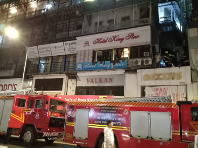 Portion of building collapses at Crawford Market