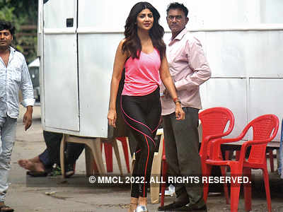 Before lockdown, Shilpa Shetty Kundra spotted at a film studio