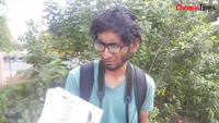 Paul talks about ant survey at Singanallur lake