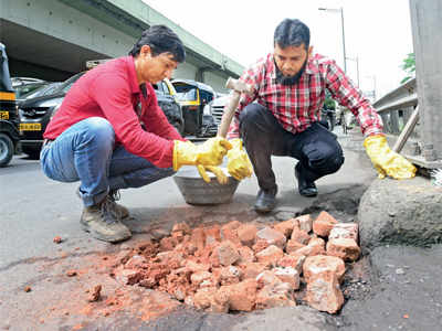 They have a quick fix for potholes