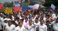Surat: Chemist and Druggist Association stages protest on Bharat Bandh