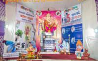The Marolcha Morya Ganpati encourages Mumbaikars to get vaccinated