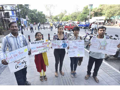 Inspired by Greta Thunberg, Punekars rally every Friday for action against climate change