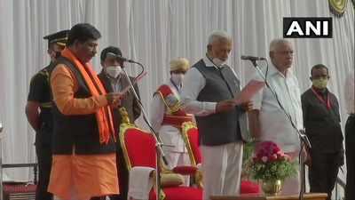 Karnataka cabinet expansion live updates: Seven new ministers take oath
