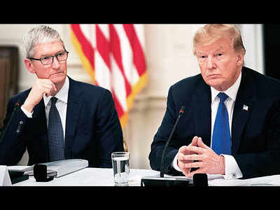 China trade war will help Samsung: Apple to Trump