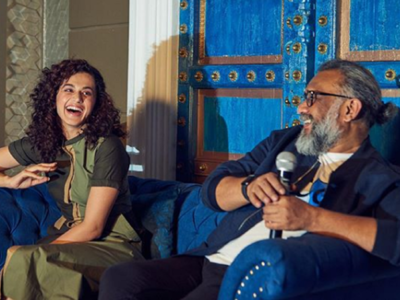 Taapsee Pannu: Book on my life shall be incomplete without writing about Anubhav Sinha