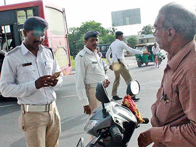Now, What's App No. for traffic violations