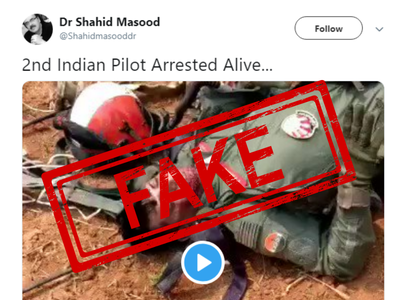 Fake News Buster: Tweet stating second IAF pilot arrested is false