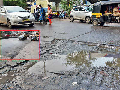 BMC's tall claims: Only 414 potholes in city