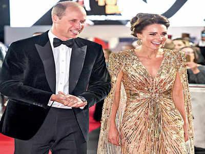 Kate Middleton steals the show at James Bond premiere