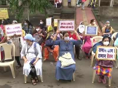 COVID 19: State-run hospital nurses warn of indefinite protest over pending demands; JJ Hospital nurses join them