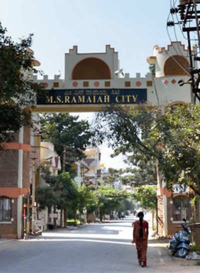 Private layouts cannot hide behind walls, says BBMP
