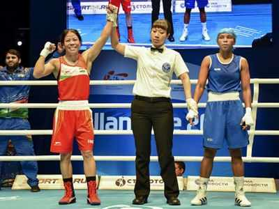 Women's World Boxing Championship: Mary Kom, Manju Rani advance to semifinal