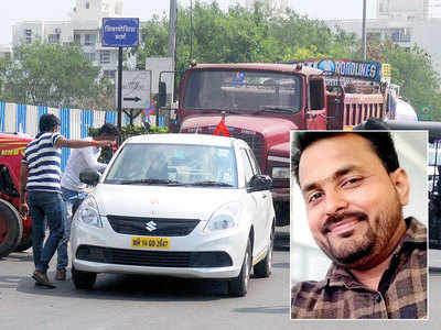 Ola cabbies protest after driver attempts suicide