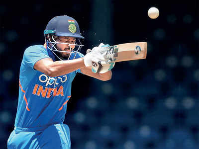 Shreyas Iyer stakes claim in India's middle-order