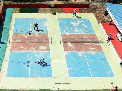 Pickleball is picking up even here in India